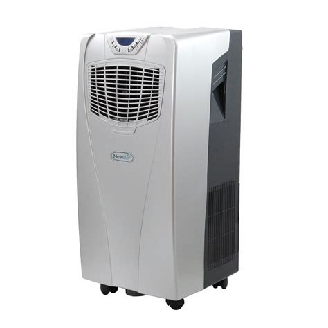 Ac Portable 10 000 btu portable air conditioner and heater unit silver new ac 10000h newair ebay