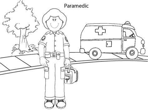 Paramedic Coloring Pages emt coloring sheets coloring pages