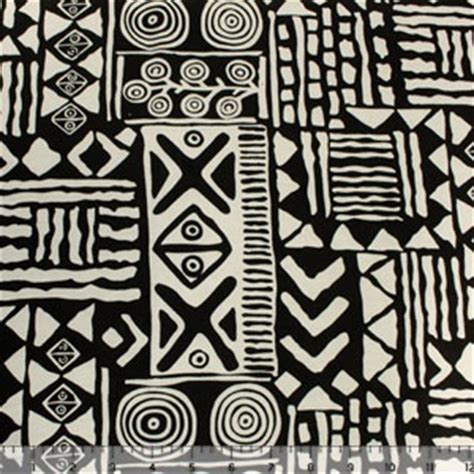 tribal pattern jersey black tribal print on cream cotton jersey knit fabric