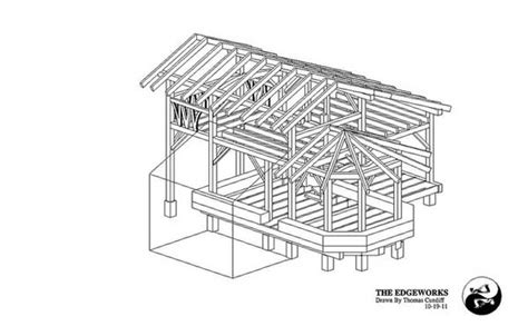 small timber frame floor plans small timber frame house plans and workshop