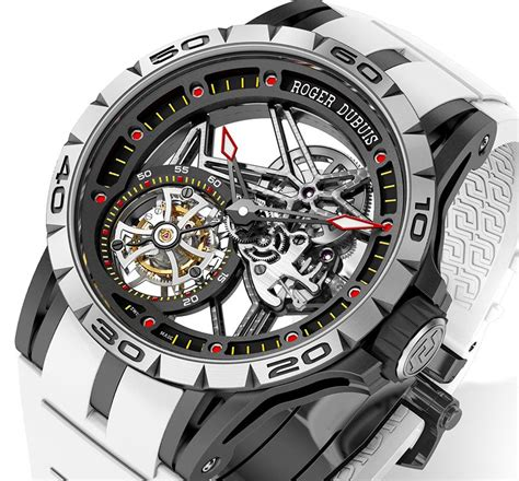 Roger Dubuis Excalibur World Time Silver roger dubuis excalibur spider americas edition ablogtowatch