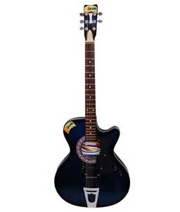 Givson blue electro guitar online at best price in india on snapdeal