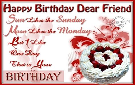 Happy Birthday Wishes For Friend Message In Birthday Wishes For Best Friend In English Clipartsgram Com