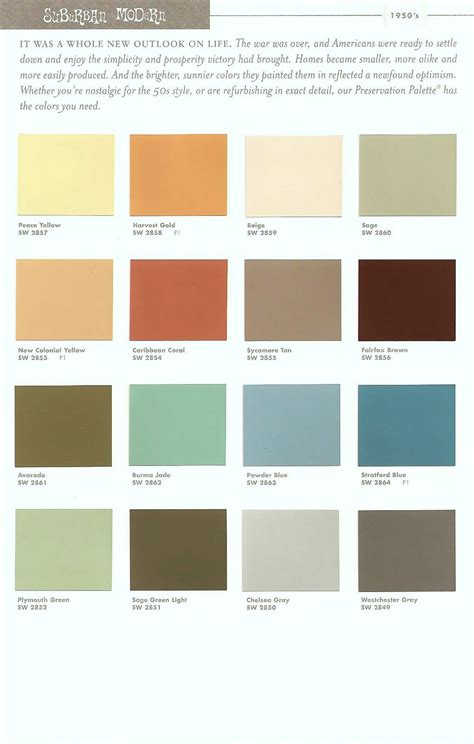 sherwin williams color schemes sherwin williams mid century modern paint colors google search pinterest home decor