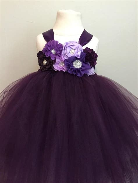 plum colored flower dresses plum purple lavender tulle dress plum flower
