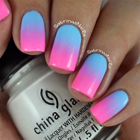 easy nail art pink and blue blue and pink matte tribal nail art