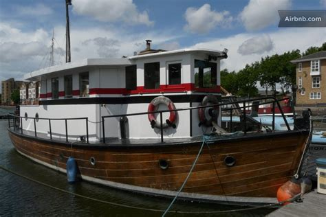 london house boat houseboat gordonia in london air b london uk pinterest