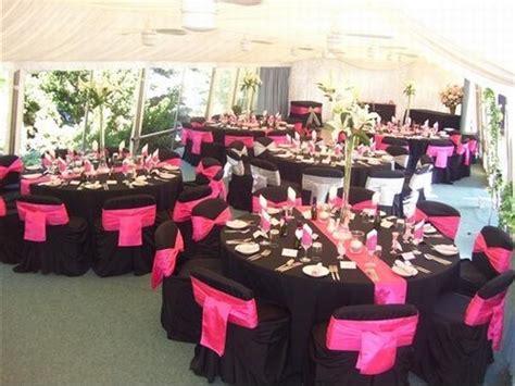 theme rose et noir mariage fushia et noir mariage forum vie pratique