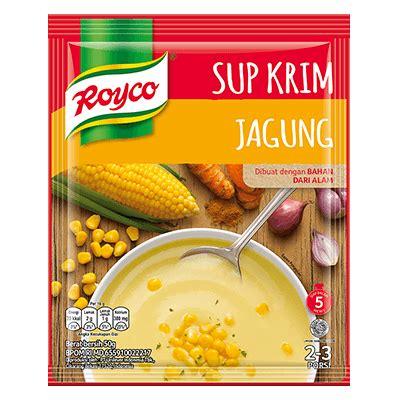 royco  krim jagung masak  hari