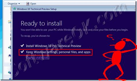install windows 10 keep programs upgrade windows 7 or 8 1 to windows 10 anything else i