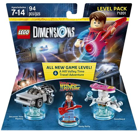Lego 71201 Dimensions Level Pack Back To The Future lego dimensions back to the future level pack revealed bricks and bloks