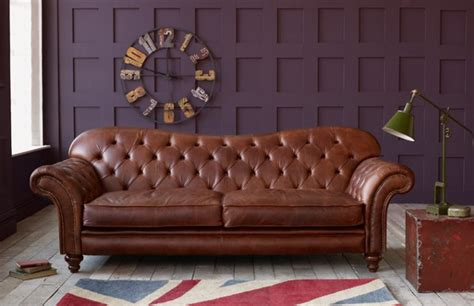 Arundel vintage leather sofa chesterfield company