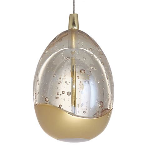 buy lewis droplet led single pendant ceiling light
