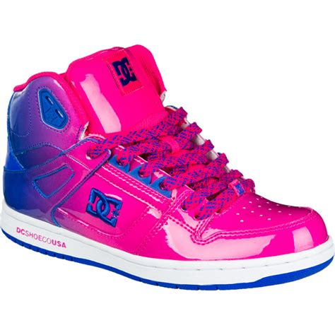 dc rebound hi le skate shoe s backcountry