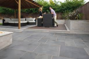 Design For Outdoor Slate Tile Ideas Fairstone Slate Casarta Garden Paving Marshalls Co Uk