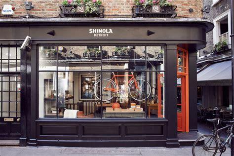 design magazine shop london shinola flagship store london uk 187 retail design blog