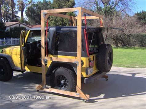 diy jeep top hoist search projects to try