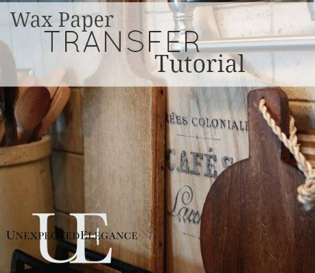 wax paper transfer tutorial transfer images using wax paper tutorial
