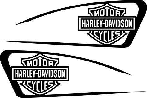 Stiker Harley Davidson Line 30 Cm harley decals airbrush gas tank stencils vinyl harley decals airbrush gas tank stencils vinyl
