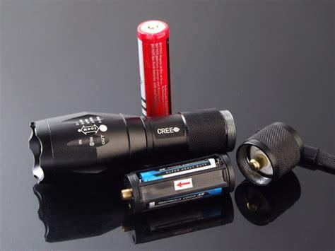 Taffware E17 Senter Led Cree Xm L T6 2000 Lumens Black 6ahmm5 taffware e17 senter led cree xm l t6 2000 lumens black