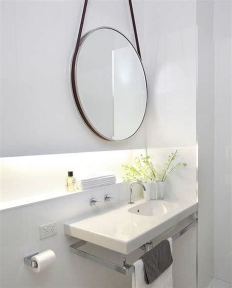 round mirror bathroom sink designs suitable for small bathrooms
