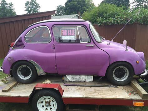 subaru  deluxe micro car restoration project  sale