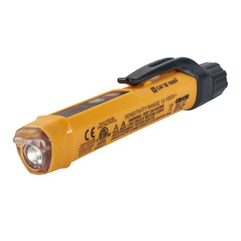 klein tools ncvt 2 blue light non contact voltage tester torch ncvt 3 klein tools
