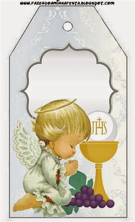 Imagenes Catolicas Para Imprimir Gratis | primera comuni 243 n imprimibles con dise 241 o en plateado y