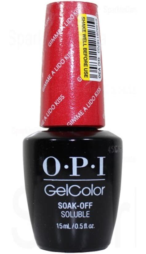 Gimme A Lido Opi opi gel color gimme a lido by opi gel color gcv30