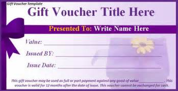 shopping spree gift certificate template