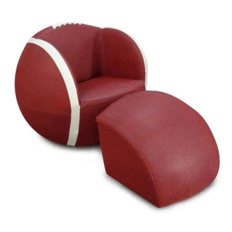 football chair and ottoman football upholstered chair with ottoman stargate cinema