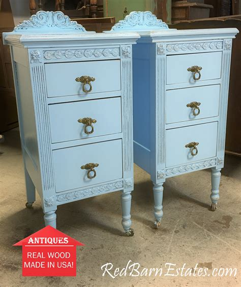 Painted Nightstands by Painted Antique Nightstands You Order We Find Restore