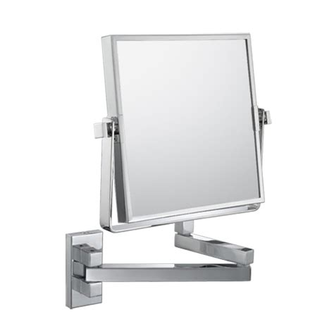 conair double sided lighted wall mount mirror brushed nickel double sided makeup mirror style guru fashion glitz