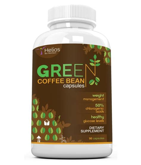 Green Coffee Extract Ashsihah Original helios bionutrition green coffee bean extract 1 no s