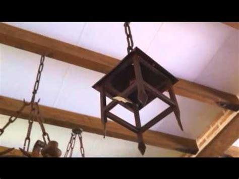 lampara de techo farol de forja arsesana youtube