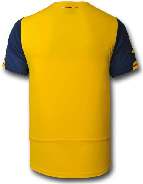 arsenal yellow kit arsenal puma kit 14 15 footy news