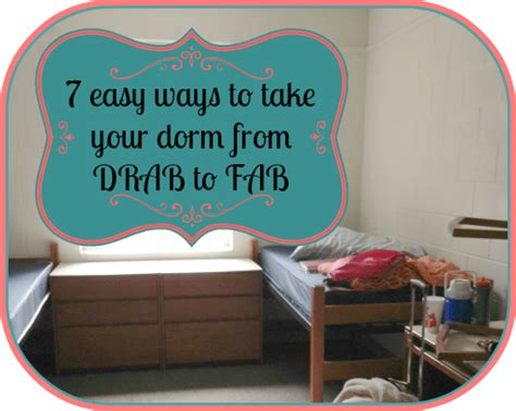 how to decorate home in simple way 7 easy ways to decorate a dorm room