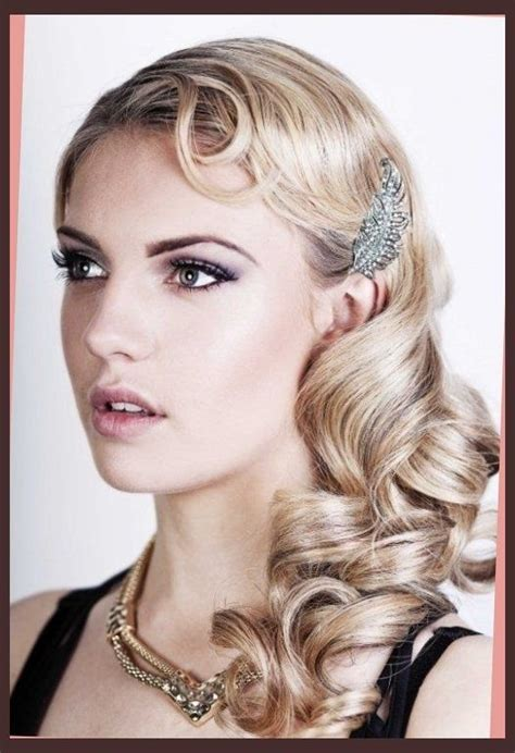 hairstyle from 20s 1920s inspired long hair www pixshark com images