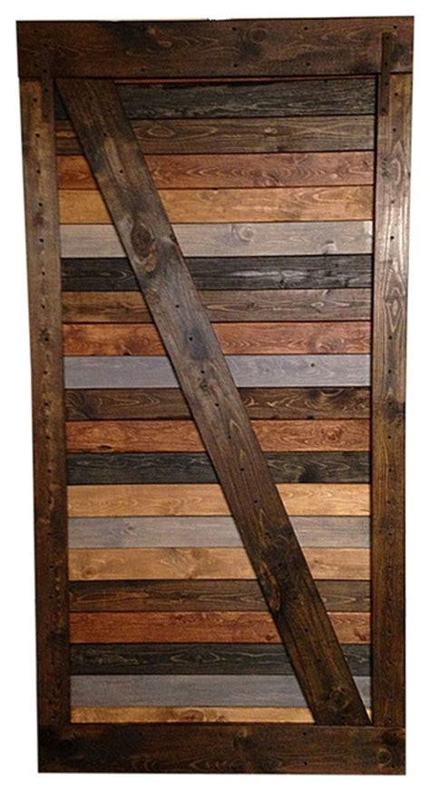 stain interior door multi stain vintage style and rustic made barn doors
