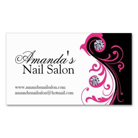 nail salon business card template free stylish nail salon business cards i this design it