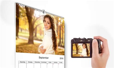 Deal Calendrier Photo Calendrier Photo Personnalis 233 Groupon