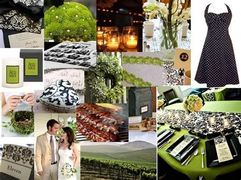29 best black green and white wedding inspiration images on weddings green