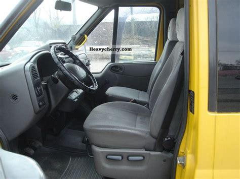 ford transit bus  seats air  estate minibus    seats truck photo  specs