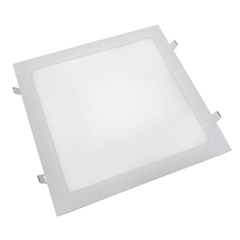 Lu Led Untuk Plafon kit 5 luminarias painel plafon led embutir quadrado 25w