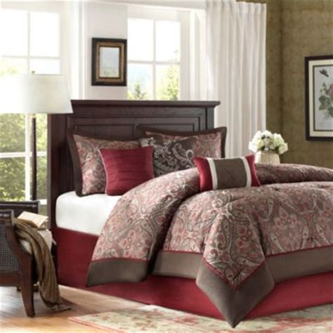 red brown and gold comforter sets buy red and brown comforter from bed bath beyond