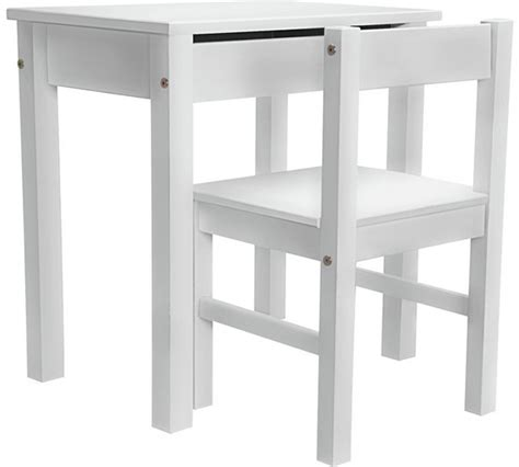 Buy Home Kids Scandinavia Desk And Chair White At Argos Childs White Desk And Chair