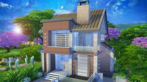 The Sims 4 House building   Future Home   www.JuseBeats.com