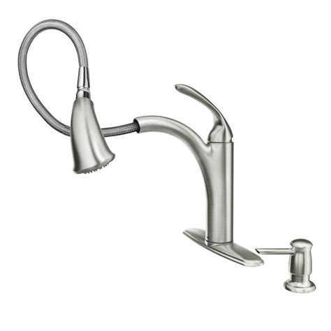 Moen Pull Out Shower Faucet Repair by Faucet 87035srs In Spot Resist Stainless By Moen