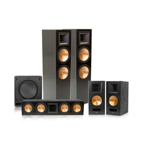 klipsch rf 7 ii reference series 5 1 home theater system