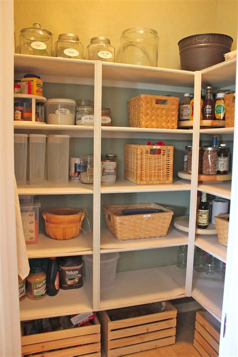 Building Pantry Shelves by Noting Grace Diy Lazy Susans For Your Pantry